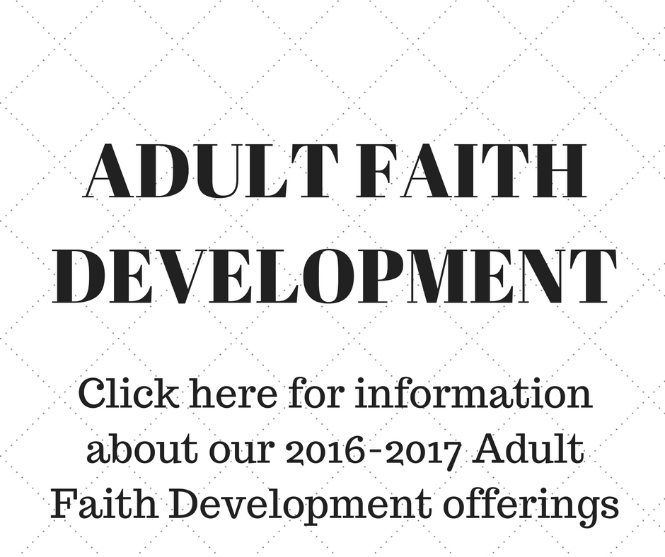 Adult Faith Development