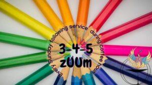 3-4-5 zUUm - Sundays during Coffee Hour after service